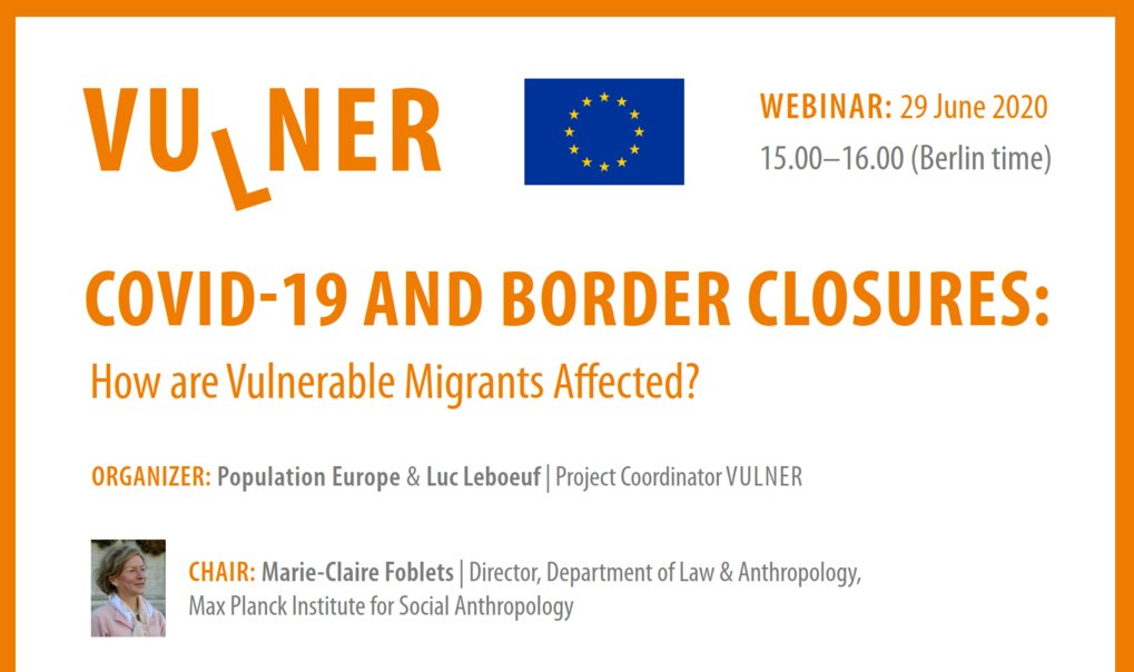 COVID-19 and Border Closures: How are Vulnerable Migrants Affected?